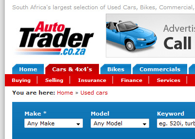 commerce: Auto Trader - South Africa